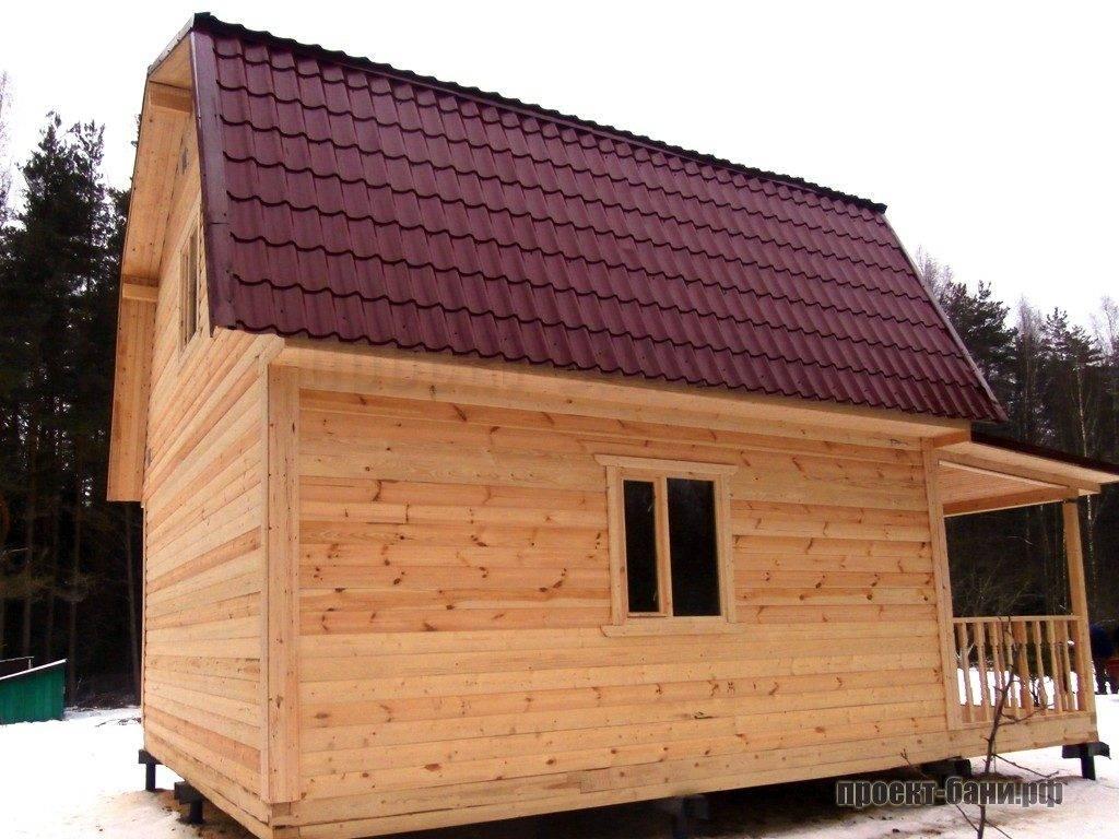 Скат ломаной крыши