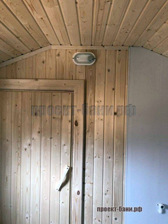 Дверь в парную